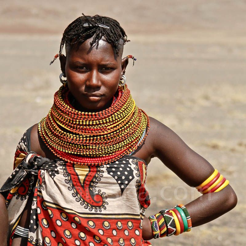 Tribal East Africa: Turkana Women